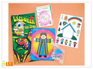 "SV15 ""Jospeh and His Colourful Coat"" Jigsaw Puzzles & Other Activity Super Value Set"