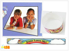 "将图片加载到图库查看器,SWSK23 ""Jesus Loves You!"" Super Value Set of 2"