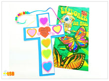 "Load image into Gallery viewer, Just Arrived! SV71 ""God's Love"" Cross DIY Craft Super Value Set"