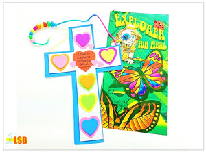 "Just Arrived! SV71 ""God's Love"" Cross DIY Craft Super Value Set"