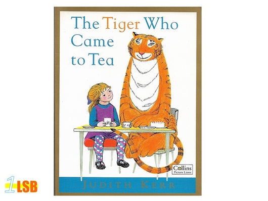 PABGF02 The Tiger Who Came to Tea (Free Book Giveaway-Preloved)