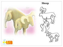 "Load image into Gallery viewer, SWSK21 ""Noah and The Ark"" Stencil DIY Craft Super Value Set A of 2"