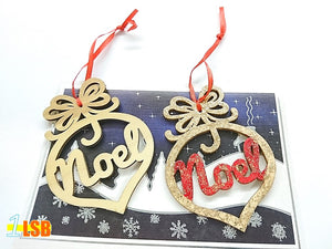"SWSK40 ""Noel"" Christmas Wooden Art N Craft Set of 12"