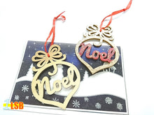 "将图片加载到图库查看器,SWSK40 ""Noel"" Christmas Wooden Art N Craft Set of 12"