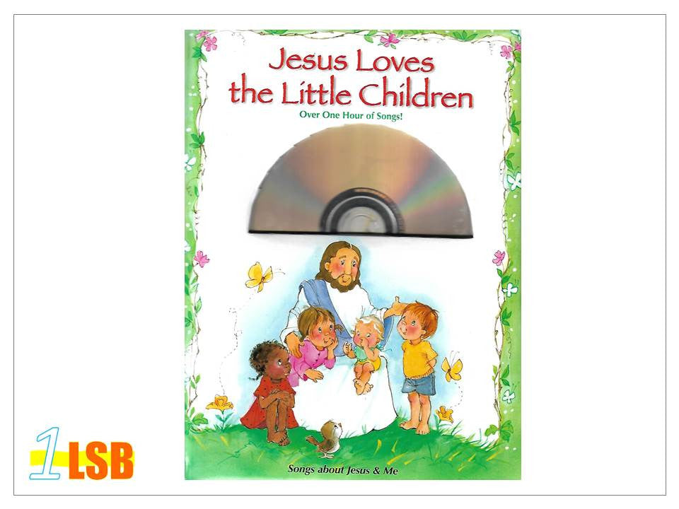 (UP to 60% OFF) PABC73 Jesus Loves the Little Children CD & Song Book