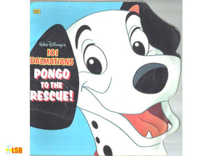 PABGF07 101 Dalmatians - Pongo To the Rescue (Free book giveaway - Preloved)