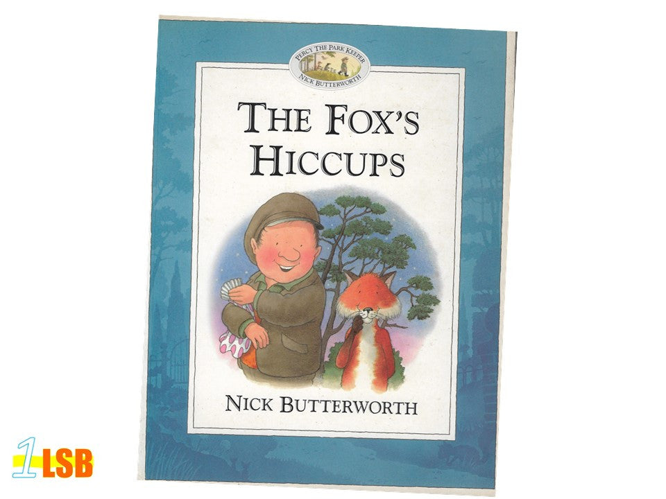 PABGF09 The Fox's Hiccups (Free Book Giveaway-Preloved)