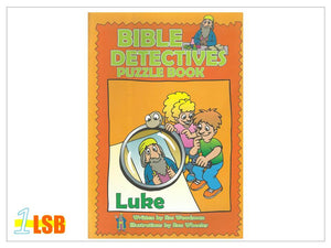 (UP to 60% OFF) PABC69 Bible Detectives Puzzle Book - Luke