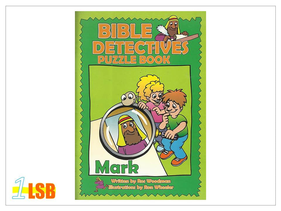 (UP to 60% OFF) PABC70 Bible Detectives Puzzle Book - Mark