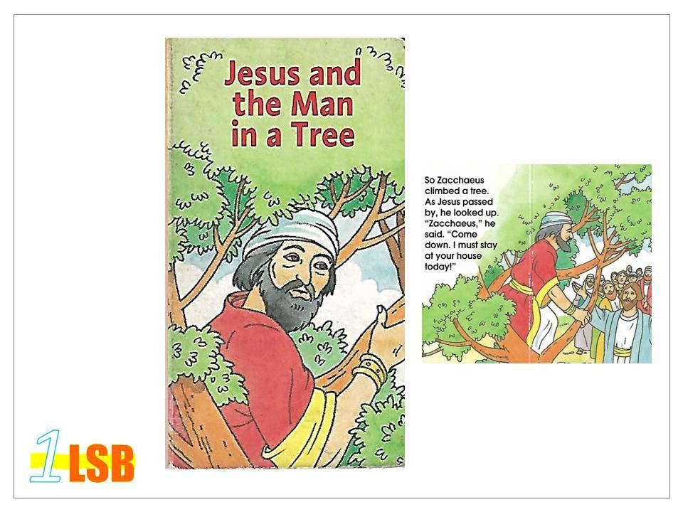 PABG78 Jesus and the Man in a Tree (Free book giveaway - N)