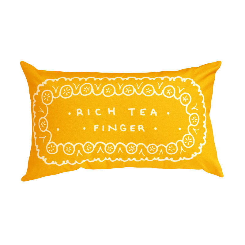2015 Rich Tea Finger Biscuit Printed Cushion
