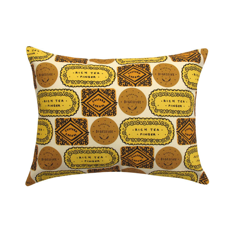 Biscuit Mix Printed Cushion - Sunshine