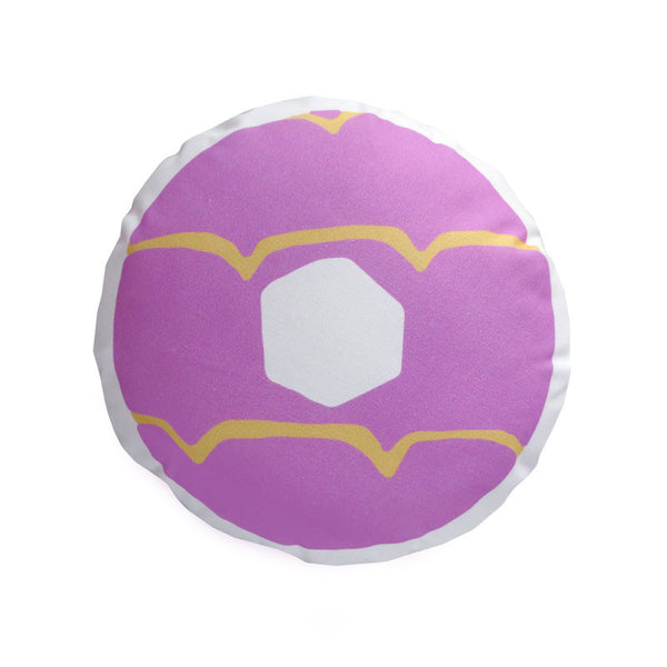 Lilac Iced Ring Cushion