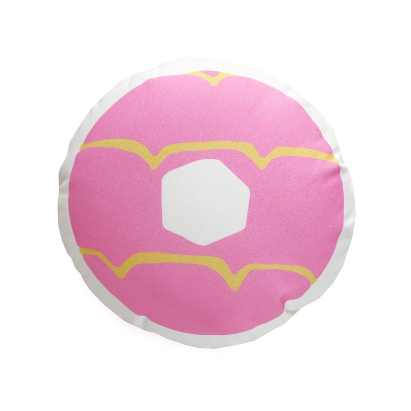 Pink Iced Ring Cushion