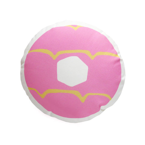 2015 Pink Iced Ring Cushion