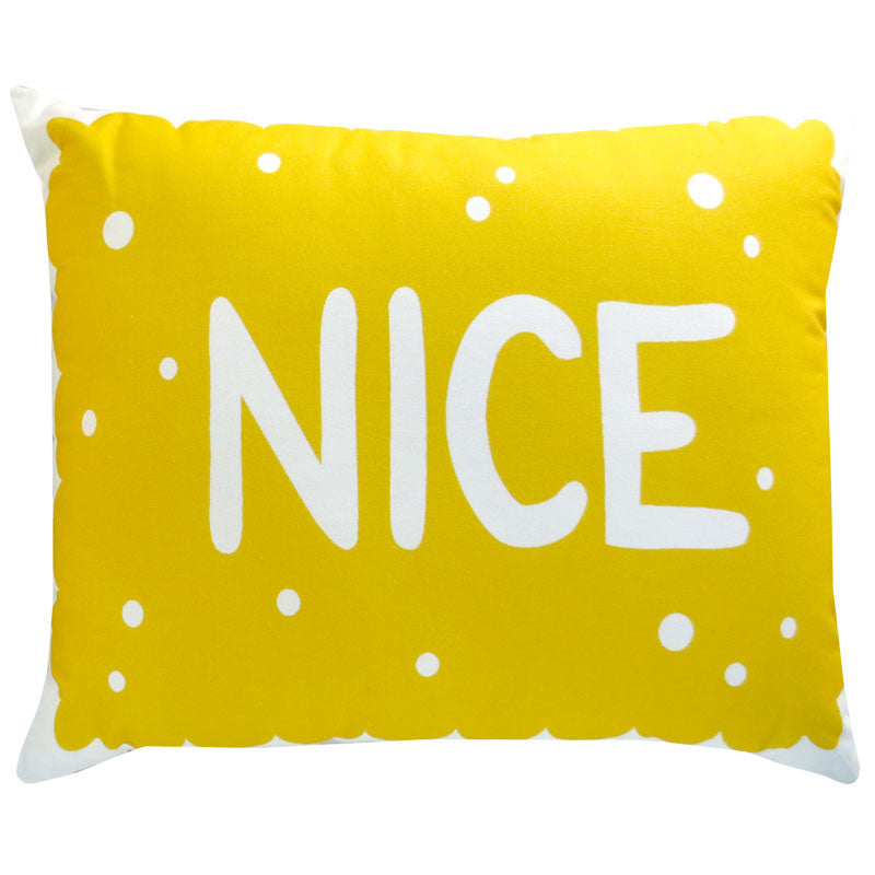 Supersize Nice Biscuit Cushion