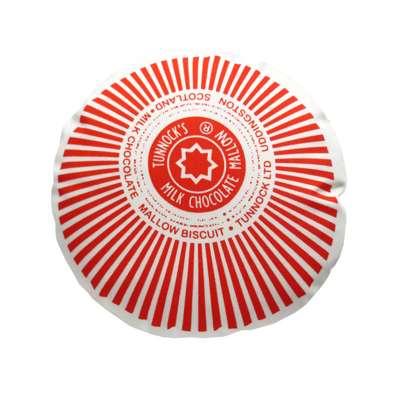 SALE - Tunnocks Teacake Printed Cushion