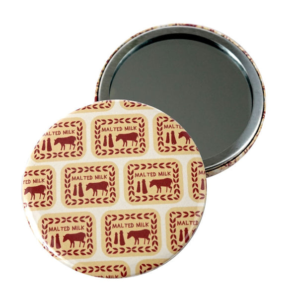 Malted Milk Medley Pocket Mirror