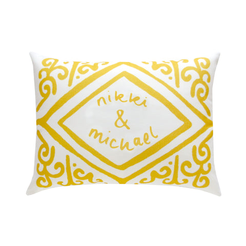 Custom Custard Cream Cushion