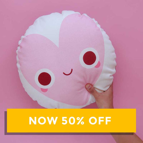 Copy of SALE - onr. shop Collab Cushion - Heart