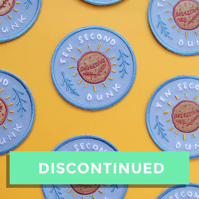SALE - Biscuit Achievement Patch - Ten Second Dunk