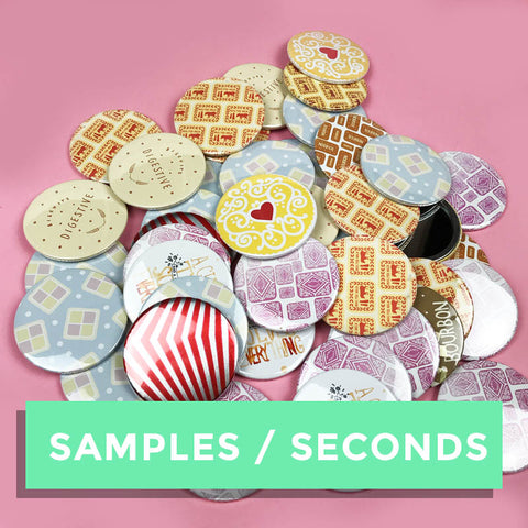 SALE - SAMPLE/SECONDS Pocket Mirror