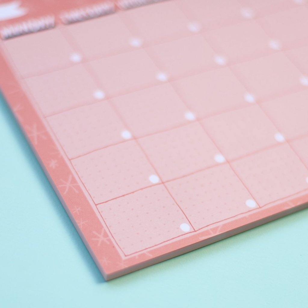 Monthly Planner Pad