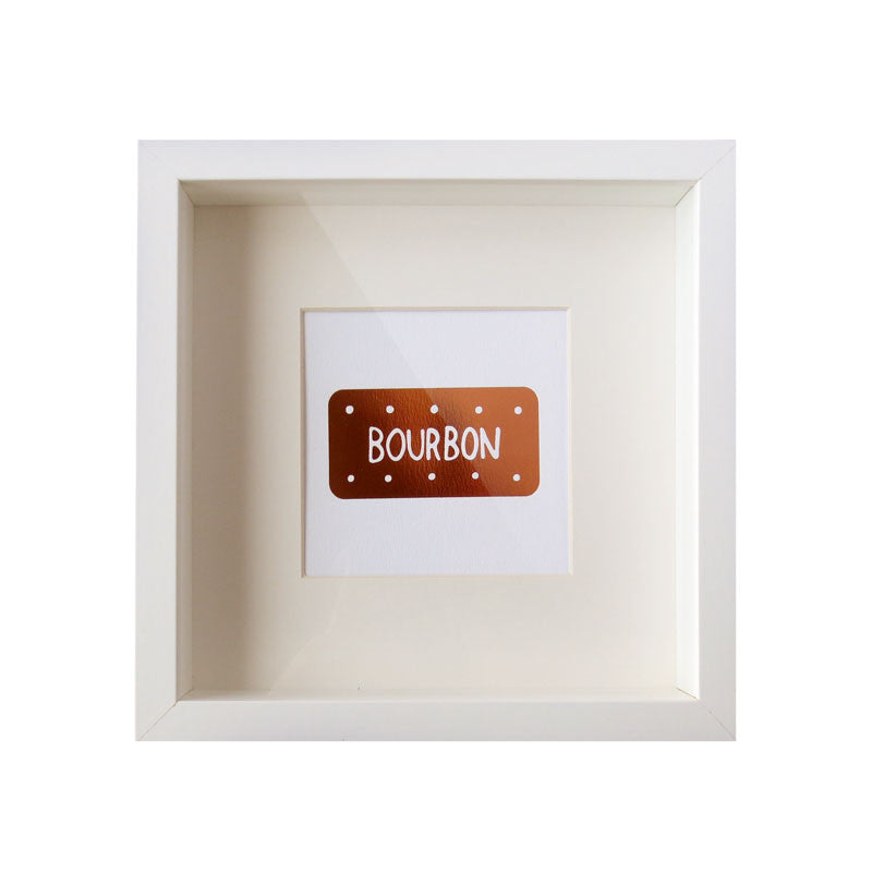 Copper Bourbon Biscuit Foil Print
