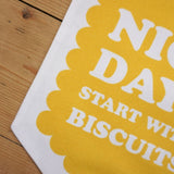 Nice Days Printed Fabric Banner