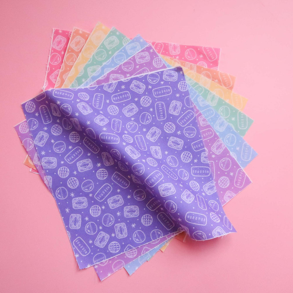 Rainbow Biscuit Fabric pack