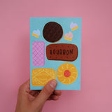 Biscuit Selection Greetings Card