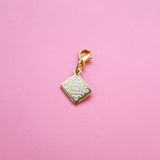 Gold Custard Cream Charm