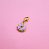 Gold Iced Ring Charm