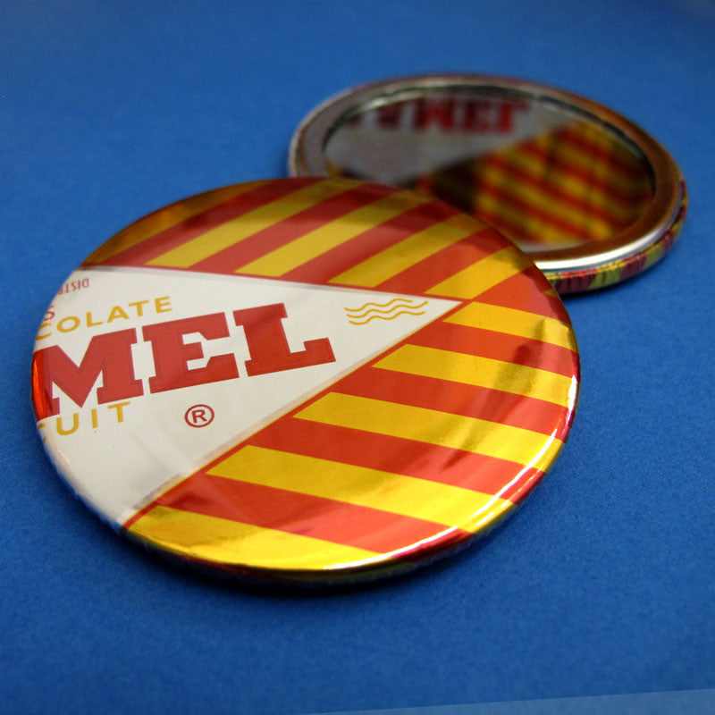 Tunnocks Caramel Wafer Foil Pocket Mirror