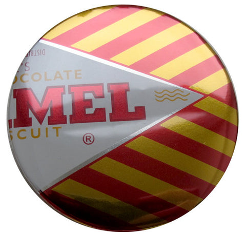 Tunnocks Caramel Wafer Foil Pin Badge
