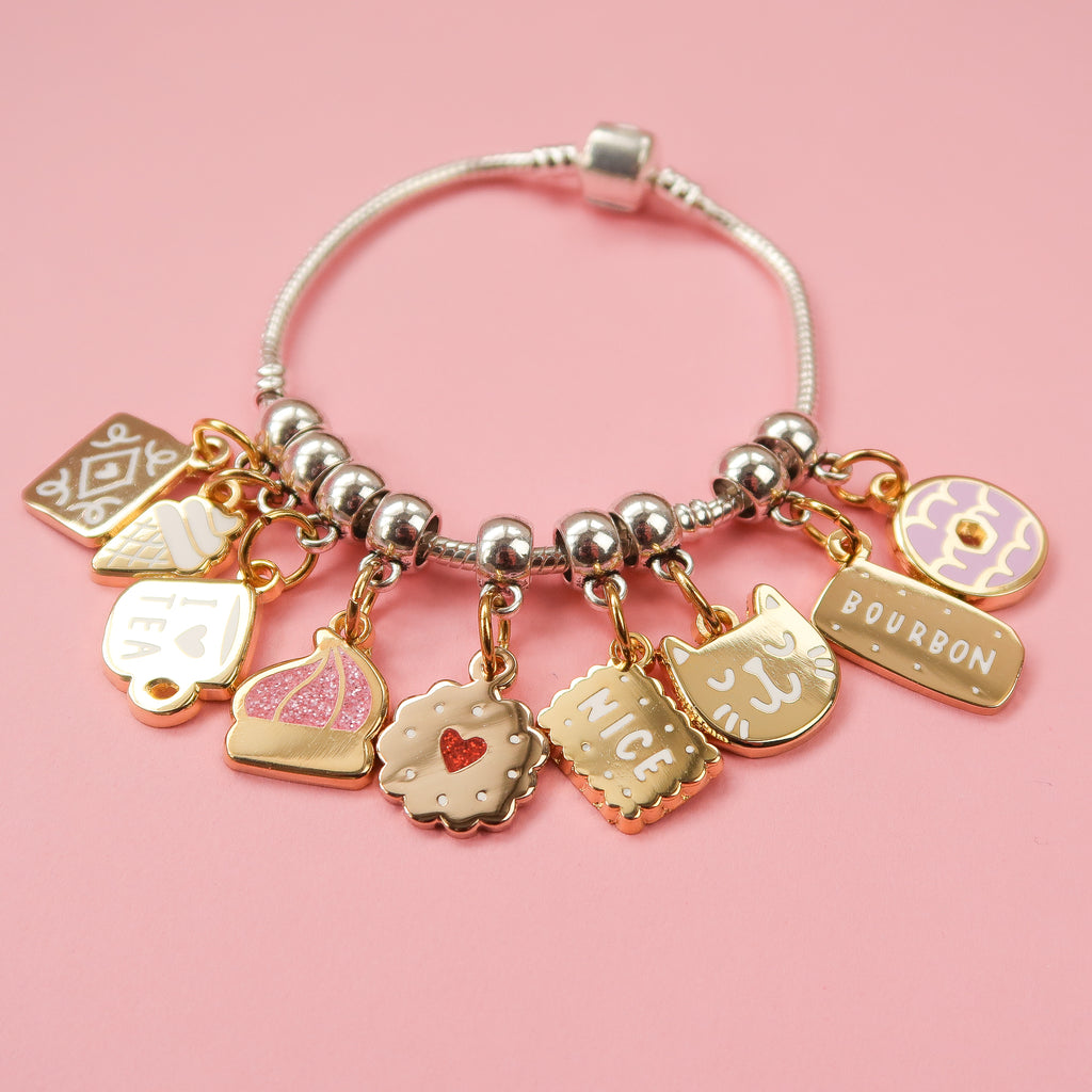 Biscuit Charm Bracelet by Nikki McWilliams