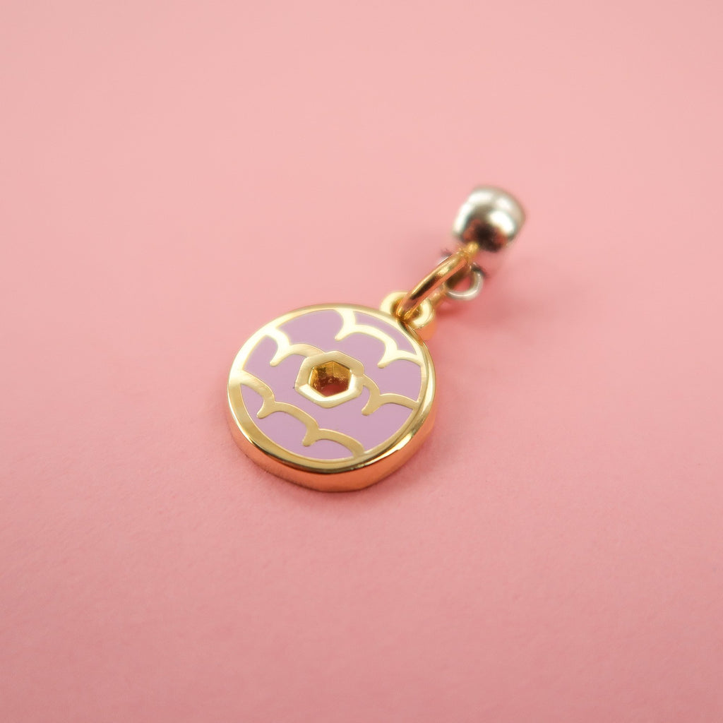 Iced Ring Biscuit Charm