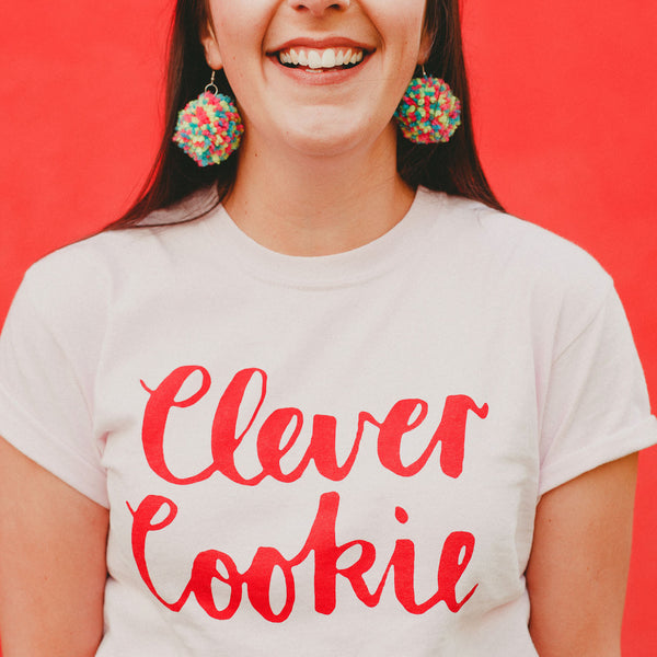 Clever Cookie Cotton T-Shirt