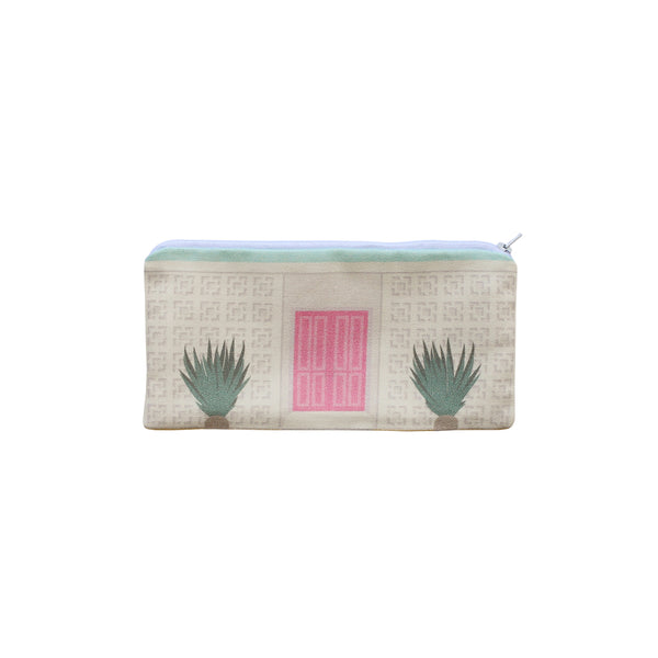 Finest Imaginary Collab - Pink Door House Printed Pouch