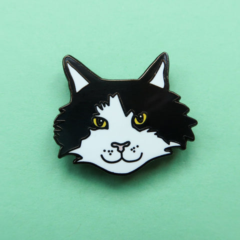Frankie The Forest Cat Enamel Pin