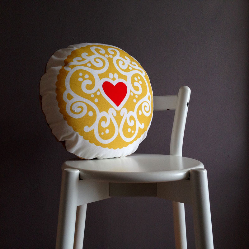 Original Jammy Heart Printed Cushion