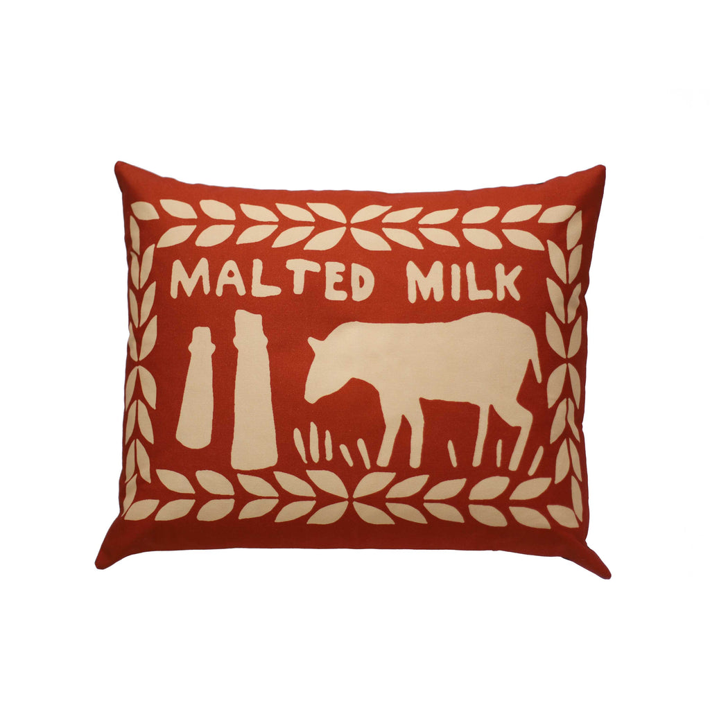 Inverse Malted Milk Printed Cushion