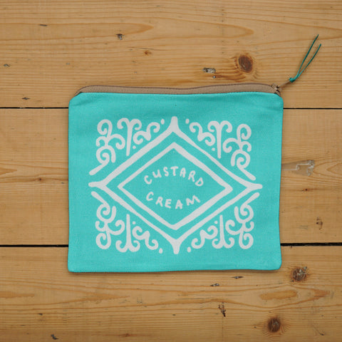 Custard Cream Pouch - Mint