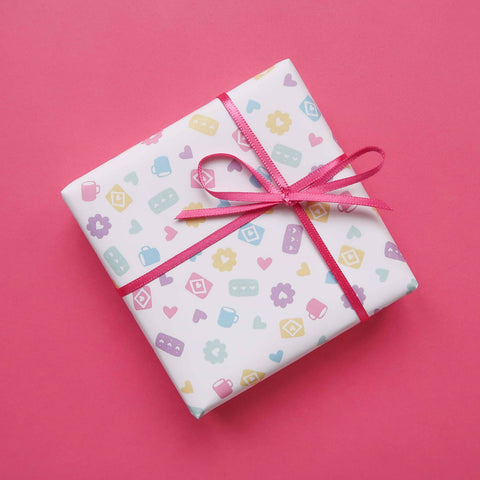 Perfect Pastel Biscuits Gift Wrap