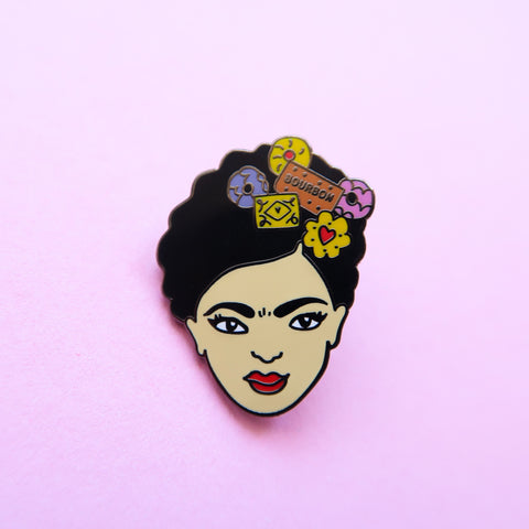 Biscuit Frida Enamel Pin