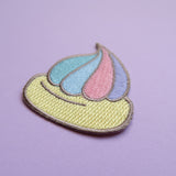 Iced Gem Iron-On Embroidered Patch