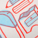 Make Something Risograph Print