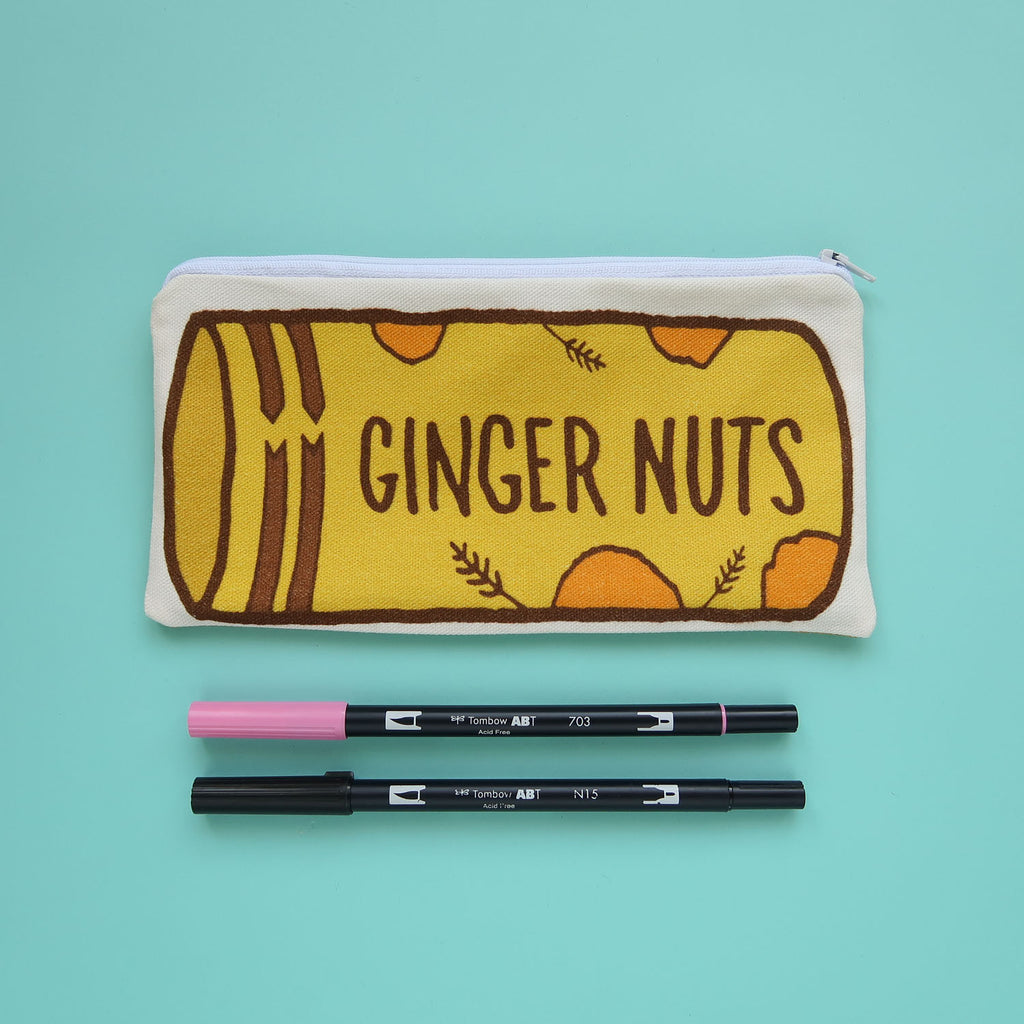 Ginger Nut Biscuits Pencil Case