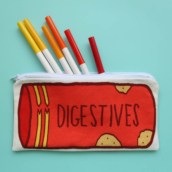 Digestive Biscuits Pencil Case