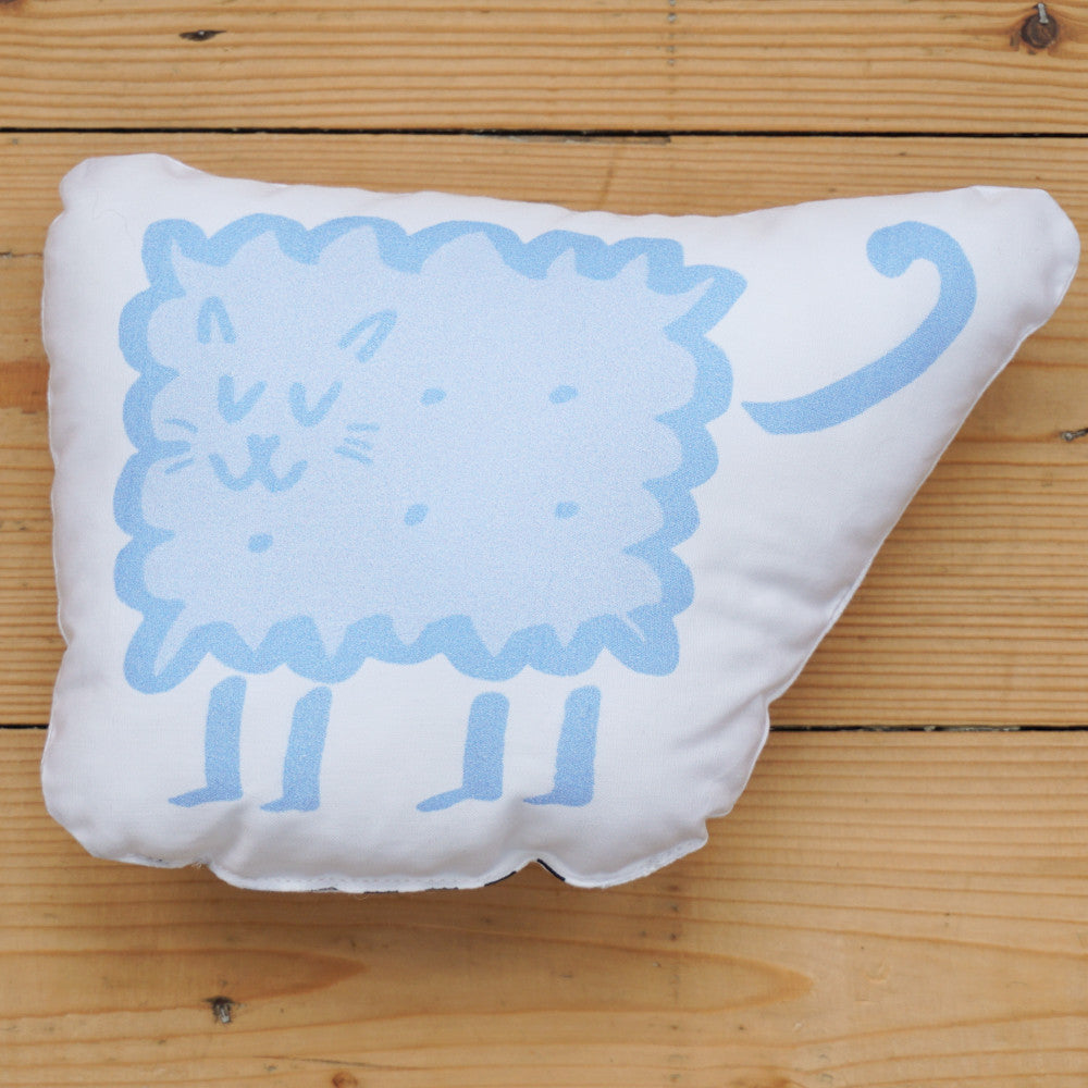 Plush Biscuit Kitty - Malty in Sky Blue